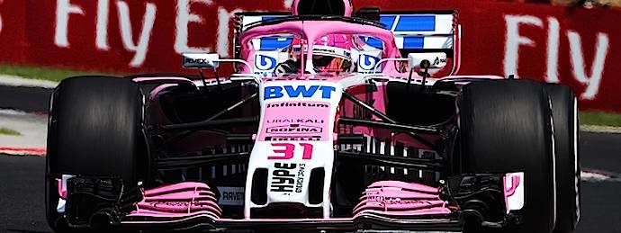Viernes en Hungría – Force India cuesta arriba y con carga en primeras libres del Hungaroring