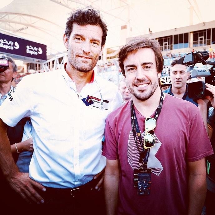 Webber y Alonso pudieron coincidir en Ferrari