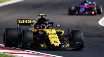 Domingo en Hungría - Renault: escaso botín