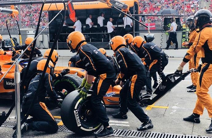 Domingo en Alemania-McLaren: Todo a la apuesta perdedora