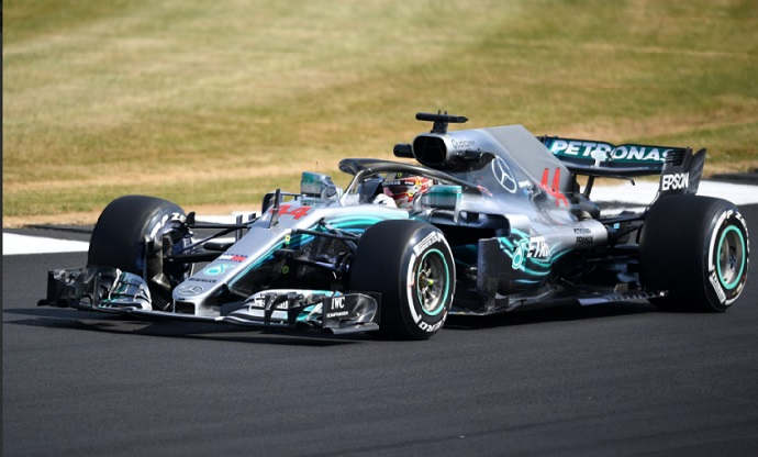GP G.Bretaña 2018-FP1: Domina Mercedes con Alonso y Sainz en la cola