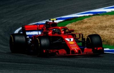 Viernes en Alemania-Ferrari: Vettel se reserva en casa