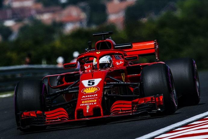 Viernes en Hungria - Ferrari: El numero 5 huele a pole position