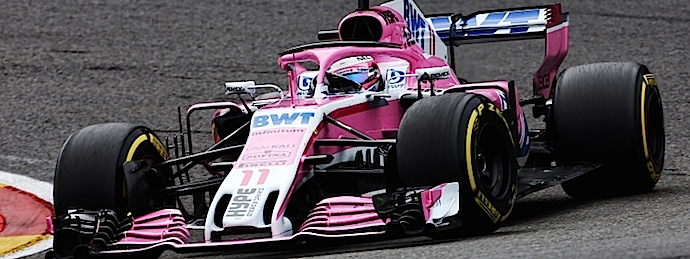 Domingo en Bélgica – Racing Point Force India sale de Spa con sus primeros 18 puntos en F1