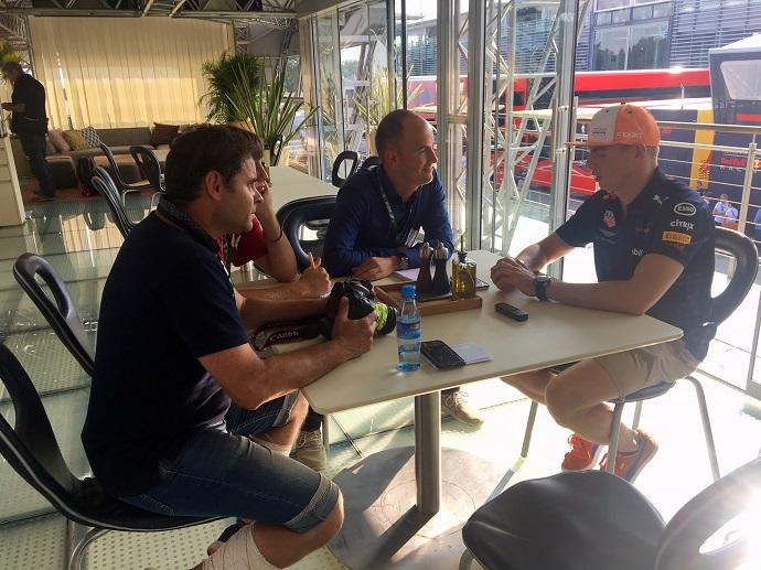 "ENTREVISTA EN EXCLUSIVA a Max Verstappen: ""Creo firmemente en Honda"""