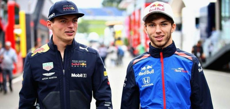 Rueda de prensa de pilotos – Red Bull encuentra el relevo en Pierre Gasly