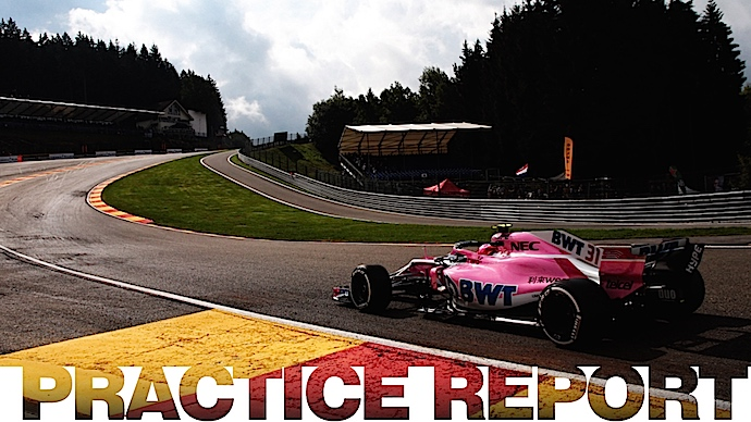 Viernes en Bélgica - Racing Point Force India debuta en Spa