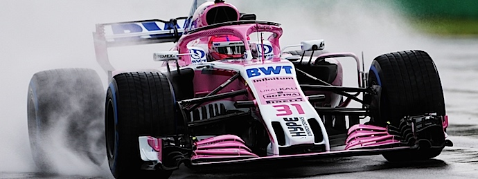 Viernes en Italia – Racing Point Force India inicia liderando el Templo bajo lluvia