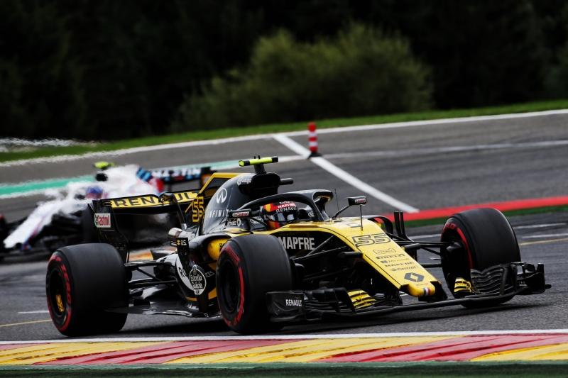 Domingo en Bélgica - Renault: Fuera de los puntos con error de principiante de Hülkenberg