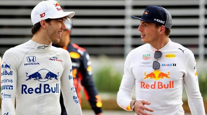 OFICIAL: Gasly será el compañero de Verstappen en Red Bull para 2019