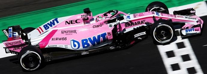 Pérez rechazó correr Renault confiando en el potencial de Force India