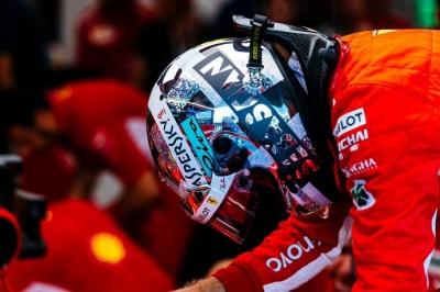 Desde el Pit Wall: Vettel queda retratado