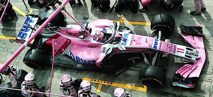 Domingo en Italia – Racing Point Force India sólido suma 14 unidades más en Monza