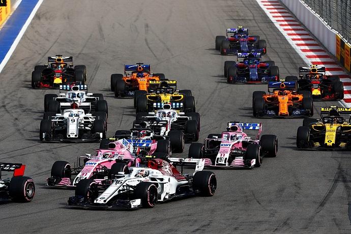 Domingo en Rusia-Sauber: Leclerc rentabiliza lo conseguido ayer en clasificación