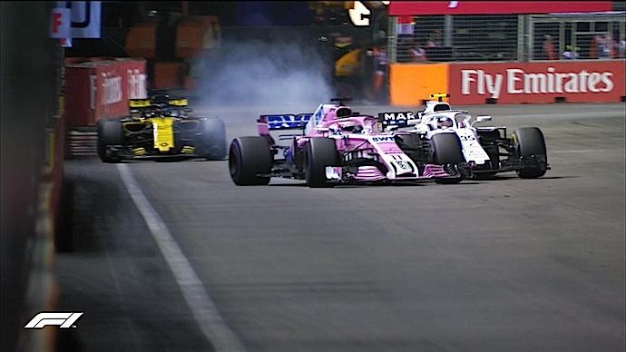 Domingo en Singapur - Racing Point y el cuento rosa de la noche triste