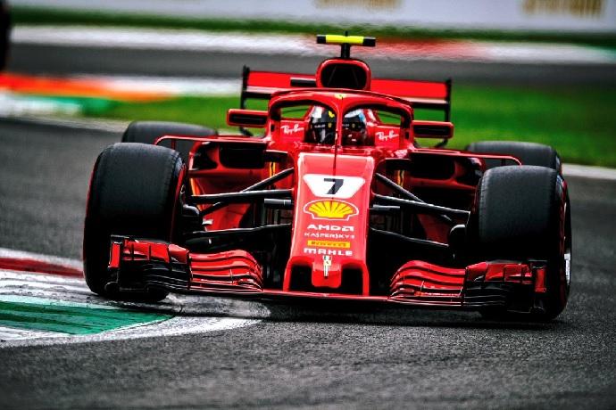 GP de Italia-Clasificación: Kimi sorprende a Vettel y Ferrari desata la euforia