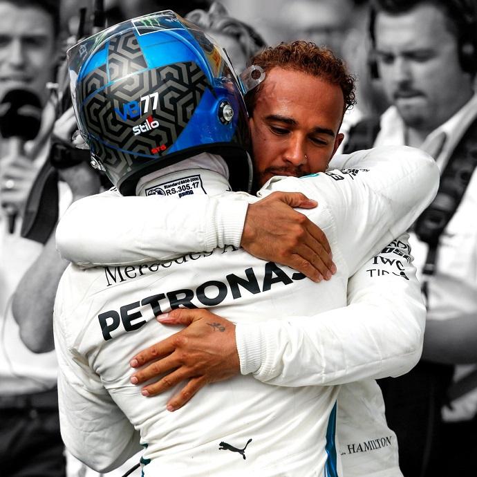 Hamilton, Räikkönen y Montezemolo, molestos con los abucheos en Monza