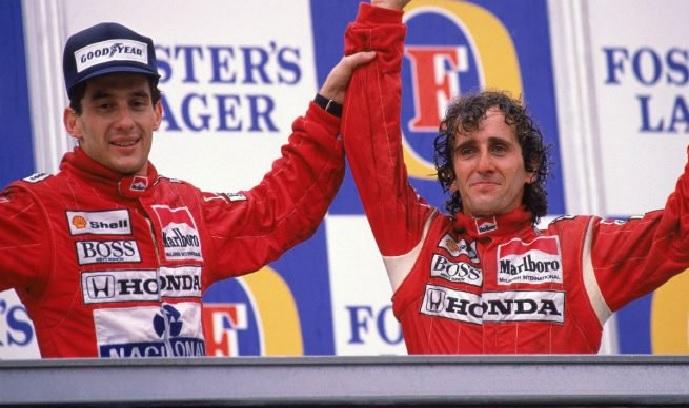 """Prost considera a Senna un amigo: """"En 1993 cambió completamente su forma de ser conmigo"""""""