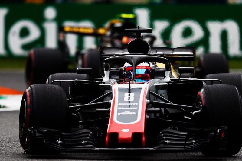 Romain Grosjean descalificado del GP Monza 2018