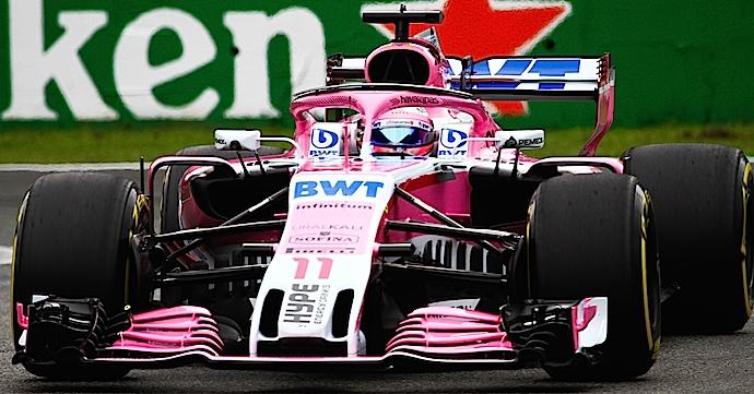 Sábado en Italia – Racing Point Force India se confía y falla en calificación de Monza