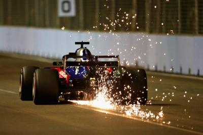 Sábado en Singapur – Toro Rosso cierra los equipos que compiten en zona media