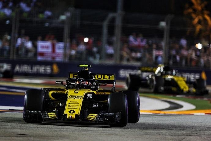 Domingo en Singapur - Renault: constancia y recompensa dobles