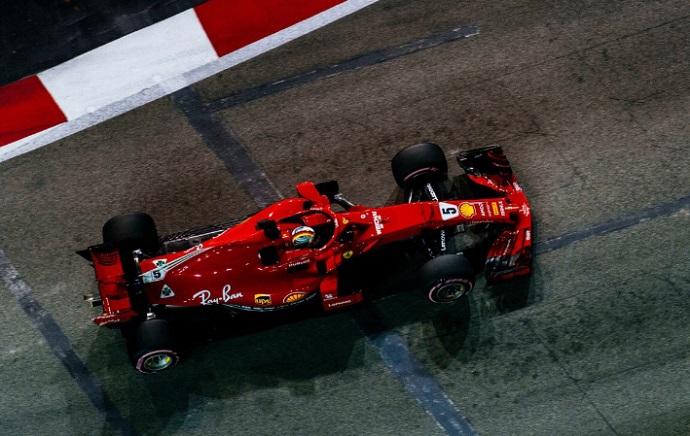 GP Singapur 2018-FP3: Ferrari avisa seriamente con Red Bull lejos y Alonso 10º