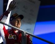 Sebastian Vettel, con opciones matemáticas pero menos factibles