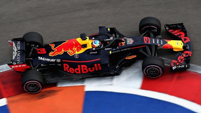 Viernes en Rusia - Red Bull: prometedor inicio