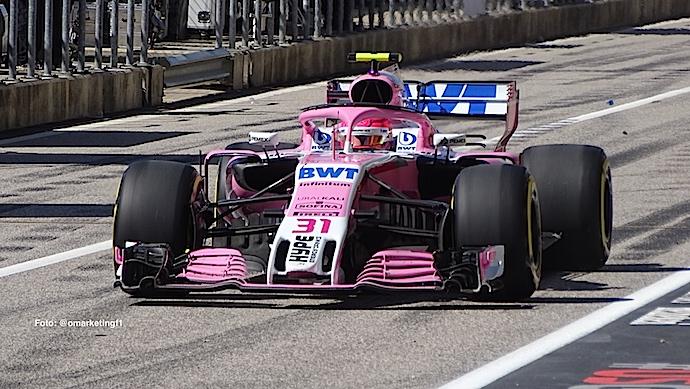 Domingo en Austin – Racing Point dentro y fuera del Top 10 tras descalificación de Ocon