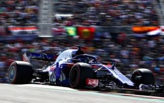 Domingo en Austin-Toro Rosso: Puntúan gracias a las sanciones