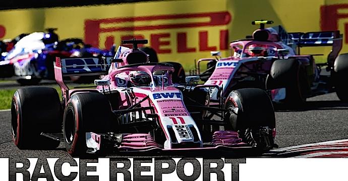 Domingo en Japón - Racing Point y Checo Pérez los mejores del resto en Suzuka