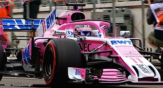 Domingo en México – Racing Point y Checo Pérez se retiran de la F1esta