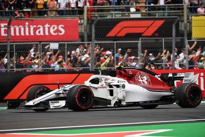 Domingo en México-Sauber: Leclerc y Ericsson mantienen el top 10