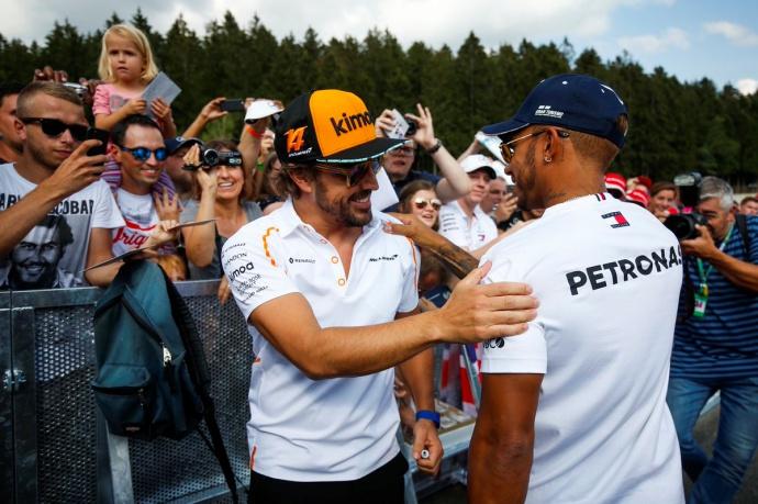 """Hamilton: """"El error de Alonso fue creer que controlaba el mercado de pilotos"""""""