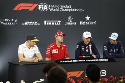 GP de Japón: rueda de prensa de pilotos