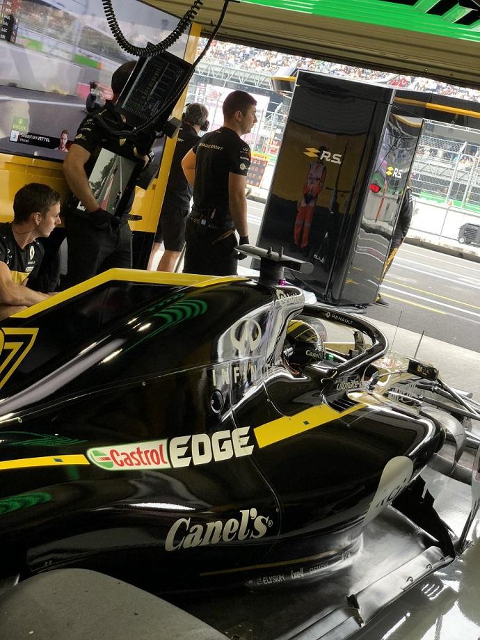 Sábado en México-Renault: Hülkenberg y Sainz mantienen su regularidad