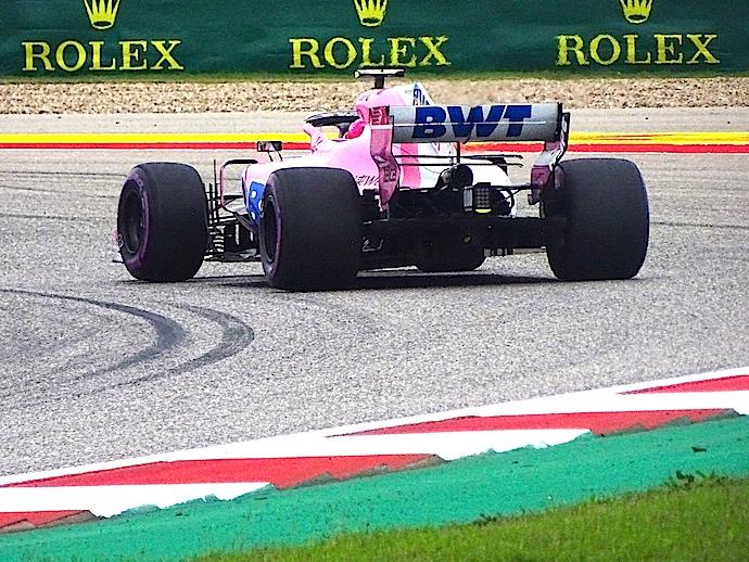 Sábado en Austin - El equipo rosa de F1 dentro del Top 10 americano
