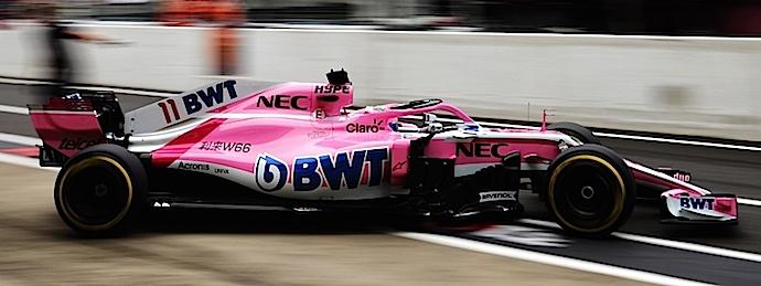 Sábado en Japón – Racing Point no encuentra el KANJI Rosa en calificación de Suzuka