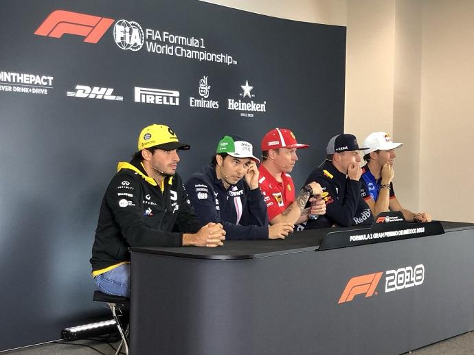Sainz rueda de prensa de pilotos
