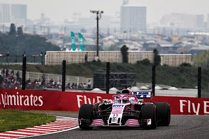 Viernes en Japón - Racing Point adelante de la Clase B en practicas libres en Suzuka
