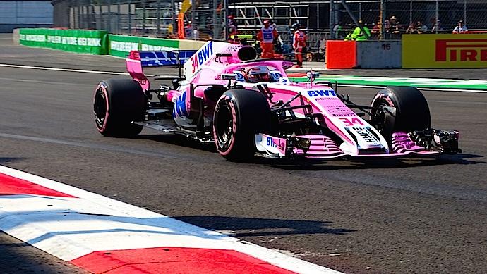 Viernes en México  - Racing Point inicia la F1esta a media tabla