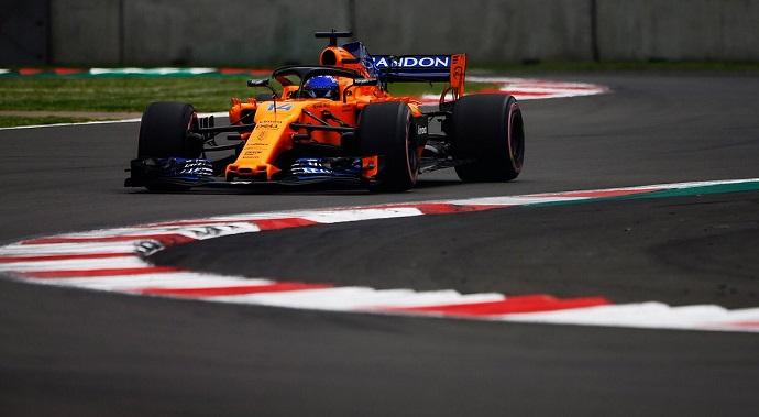 Sábado en México - McLaren y Alonso (12º) en la 'lucha libre' por los puntos