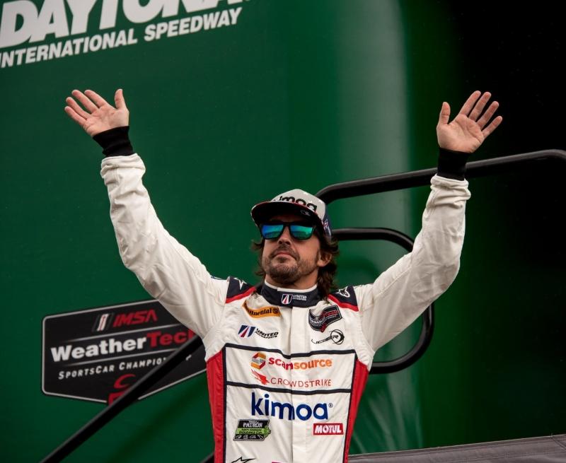 Fernando Alonso vuelve a Daytona de mano de Cadillac