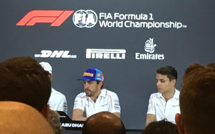 GP de Abu Dhabi, última rueda de prensa de Alonso