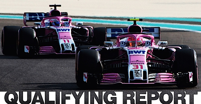 Sábado en Abu Dabi – Racing Point - Claroscuros en el crepúsculo de Yas Marina