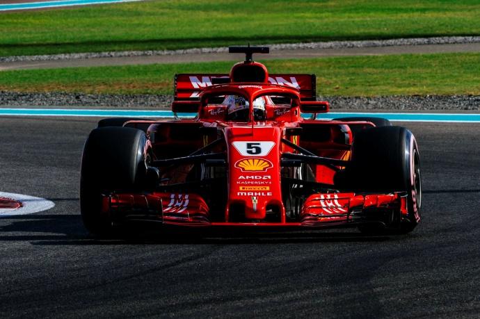 Sábado en Abu Dabi-Ferrari: Deben conformarse con ser segundos