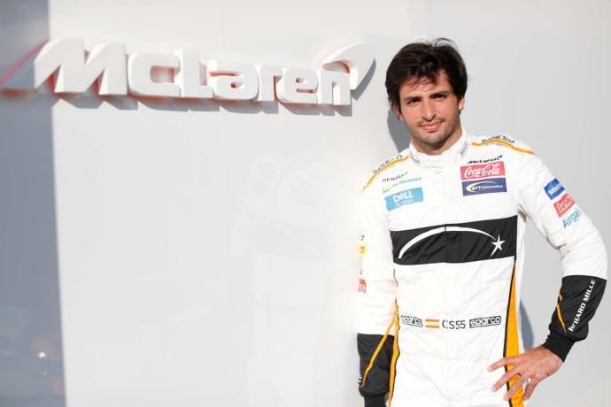 """Sainz se estrena con McLaren: """"Es un sueño hecho realidad"""""""