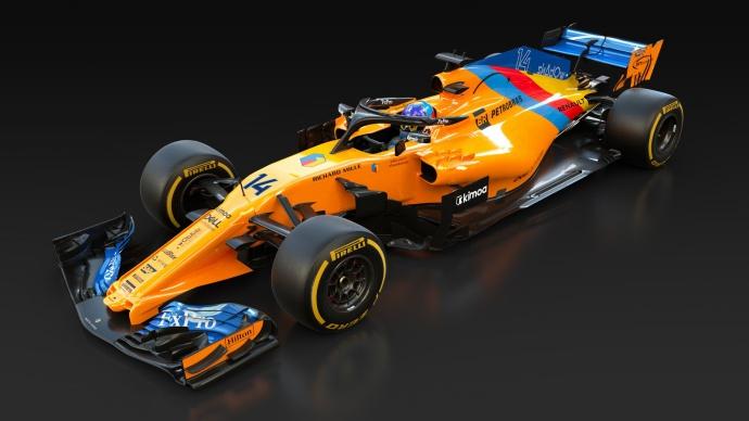 Un McLaren especial para despedir a Alonso