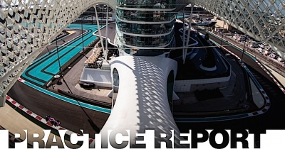 Viernes en Abu Dabi - Racing Point uno adentro y otro afuera del Top 10 en ensayos de Yas Marina